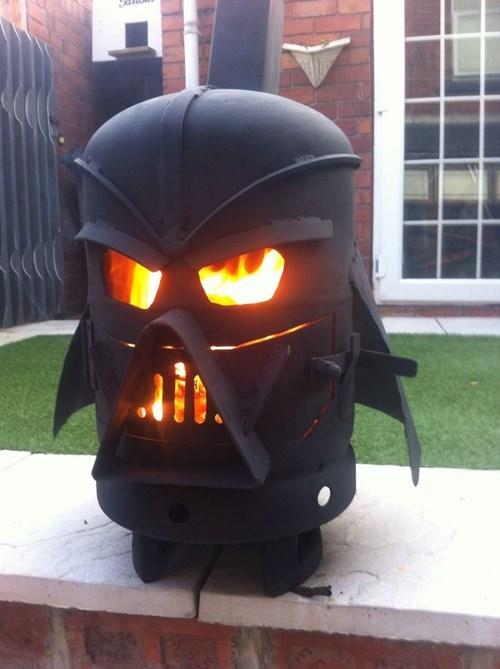 darth vader,grill