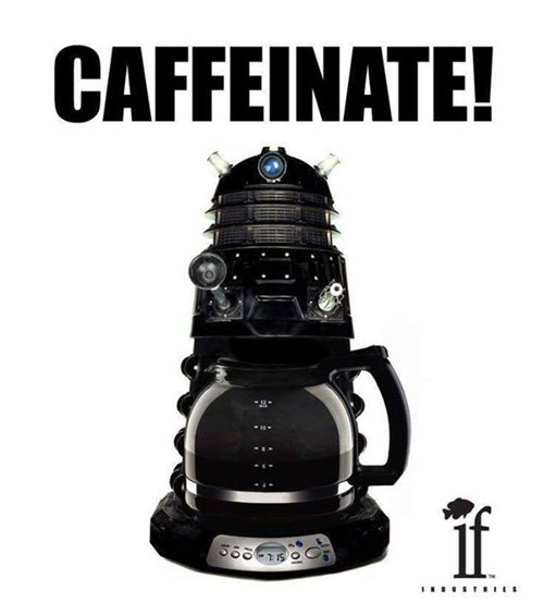 daleks,coffee,puns
