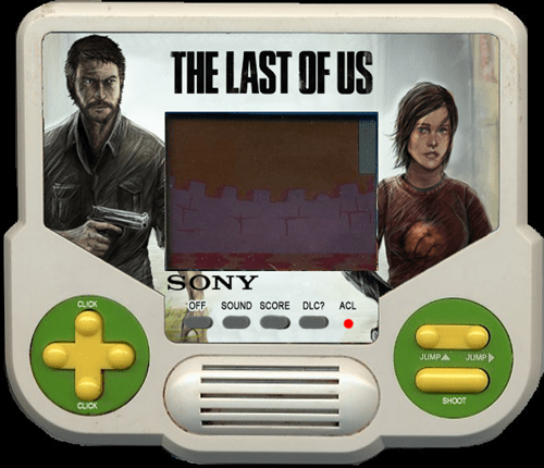 tiger electronics,the last of us