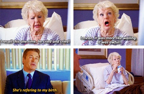 Babies,30 rock,birth,funny,parenting