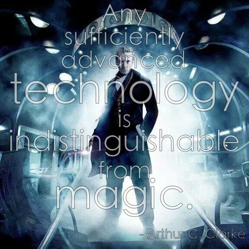 12th Doctor sci fi arthur c clarke
