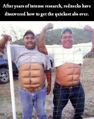 fitness exercise rednecks - 8262346496