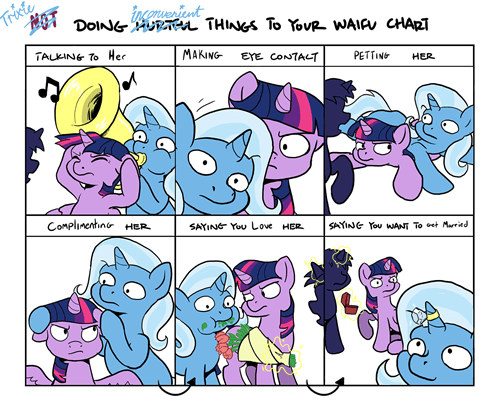waifu twilight sparkle the great and powerful trixie - 8262521088