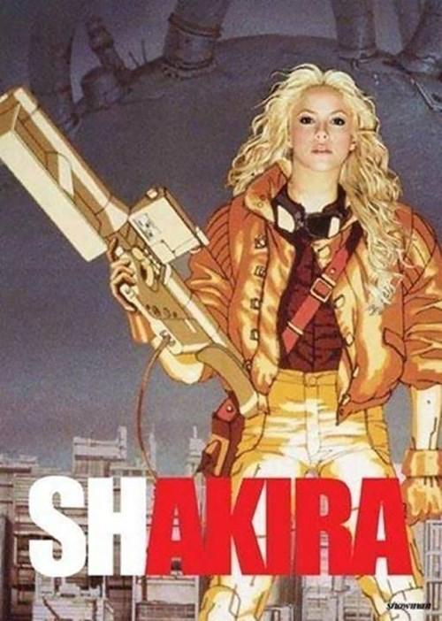 Akira anime puns shakira - 8262602240