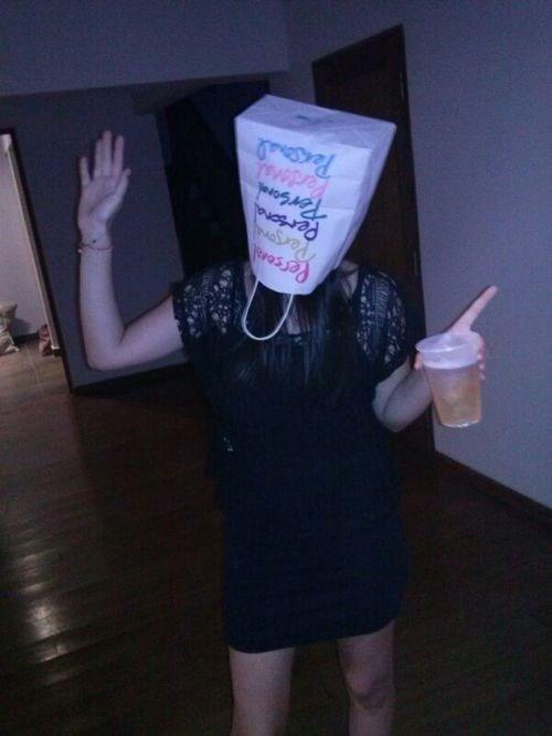 bag drunk head funny after 12 - 8262626816