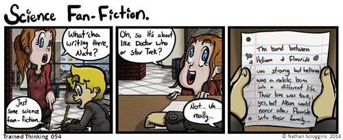 fan fiction funny science - 8262640128
