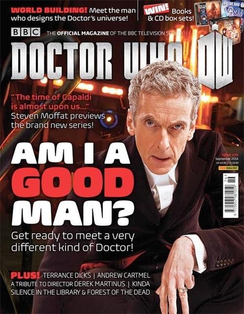 Peter Capaldi 12th Doctor magazine - 8262712832
