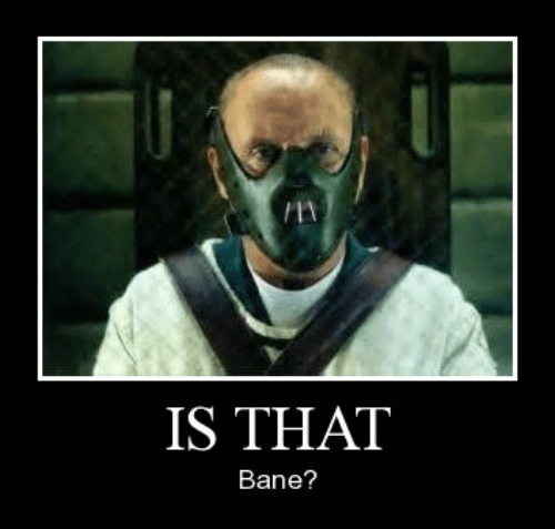 bane kids funny hannibal lector wtf - 8262781184