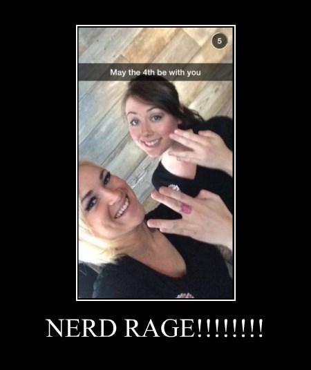nerds Star Trek star wars trolling - 8262826240