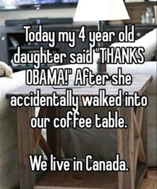 Canada Memes parenting thanks obama g rated - 8262970880