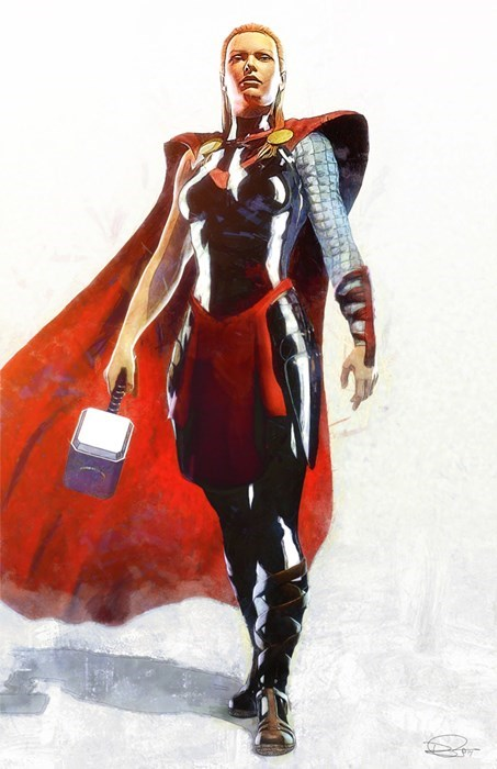 Fan Art Thor women - 8262977792