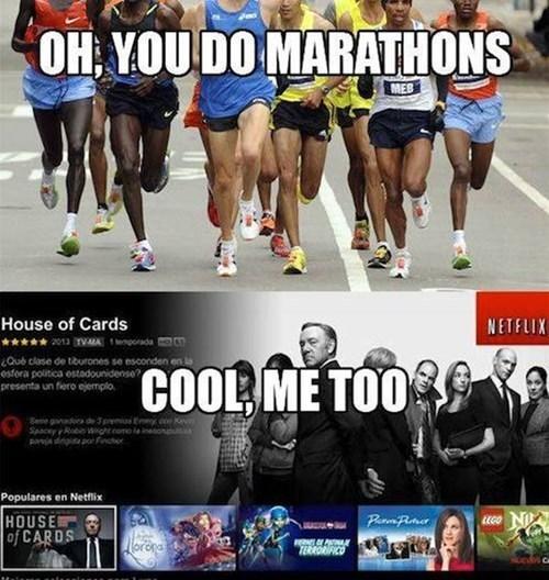 marathons,netflix,funny