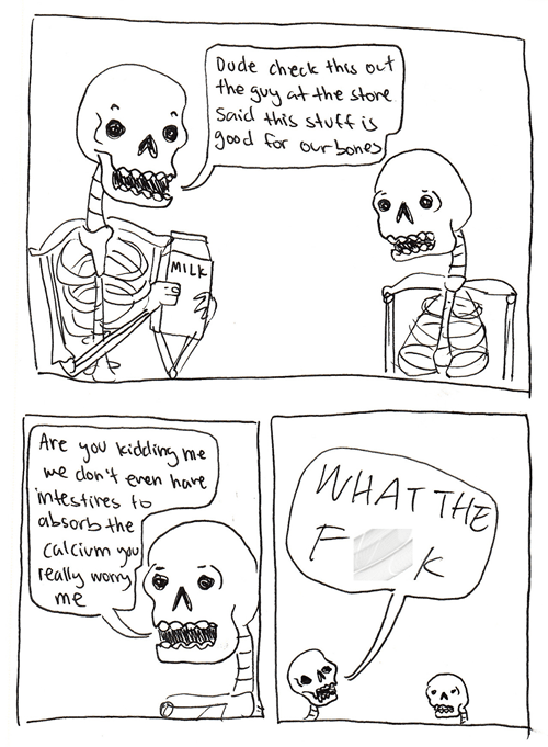 bones,skeletons,web comics