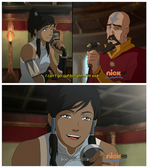 Avatar,cartoons,mean girls,korra