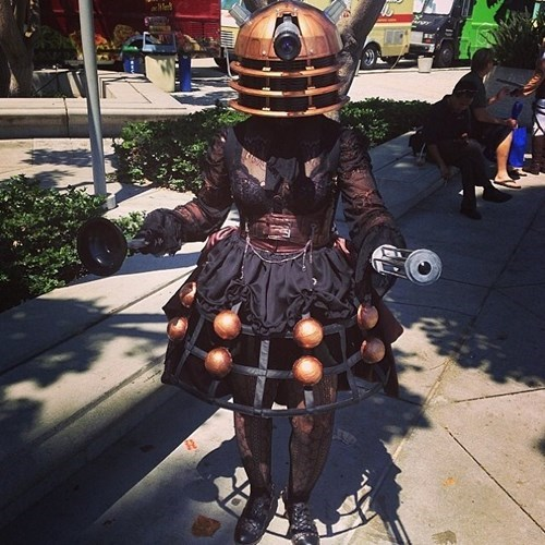 cosplay,daleks,Sexy Ladies