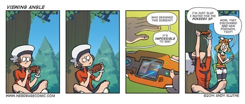 gameboy advance Pokémon web comics - 8263129856