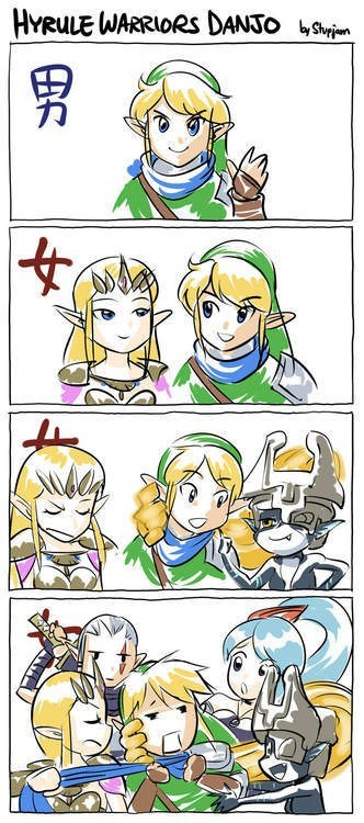 web comics,hyrule warriors