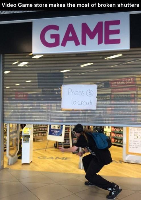 monday thru friday video games sign retail - 8263902464