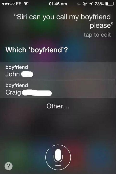 boyfriend funny wtf siri dating - 8263916288