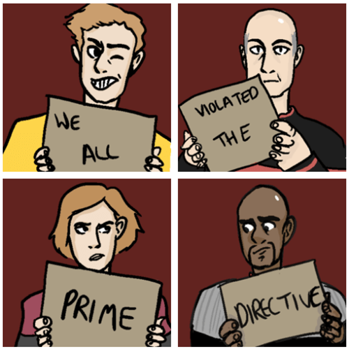 Fan Art,Star Trek,shaming,scifi