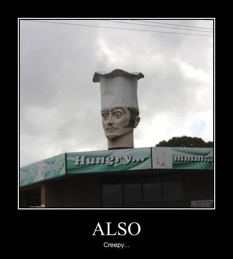 chef,creepy,hungry,funny