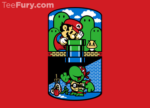 for sale,Super Mario bros,TMNT,tshirts