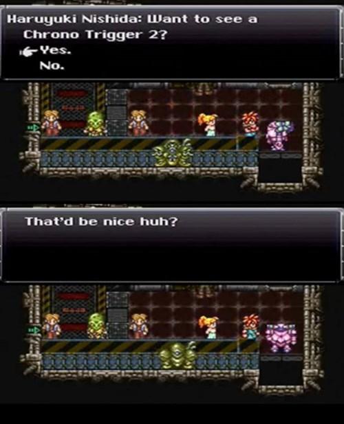 Chrono Trigger,trolling,square enix,squaresoft,Square