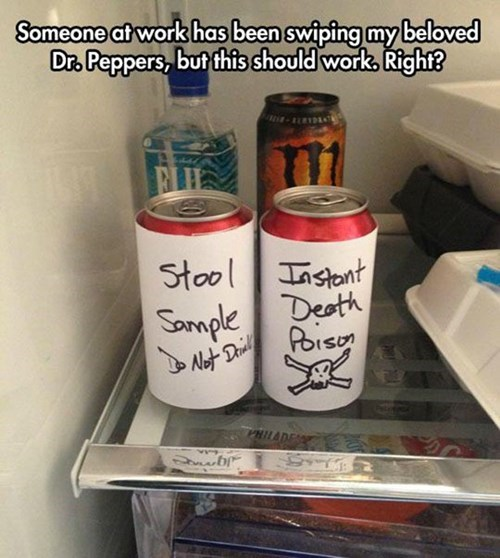 dr pepper,coworkers