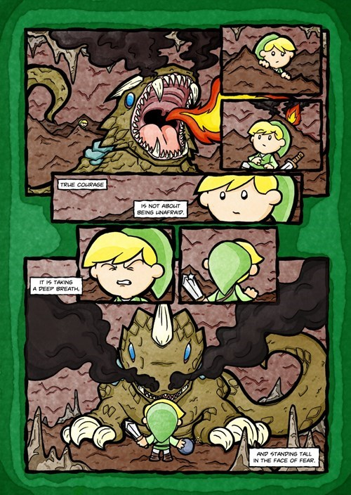 courage link zelda web comics - 8264202496