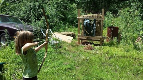 BAMF archery justin bieber Kickass Kid - 8264357120