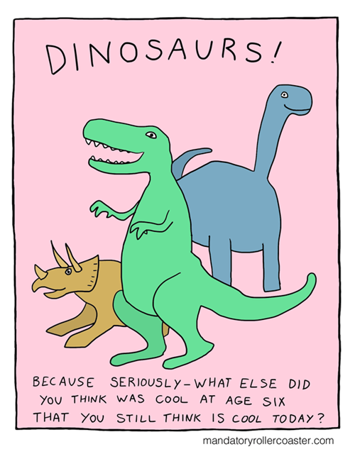 A Reflection on Dinosaurs