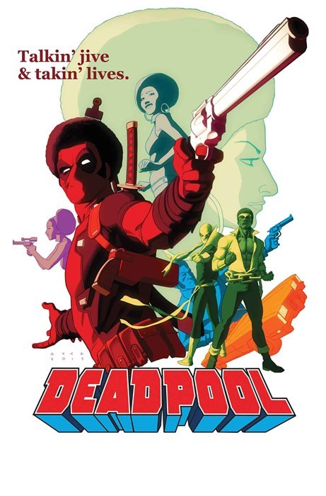 deadpool Fan Art shaft - 8265243904