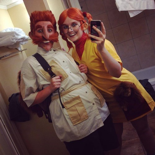 cosplay,wild thornberrys,smashing