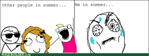 summer,reactions