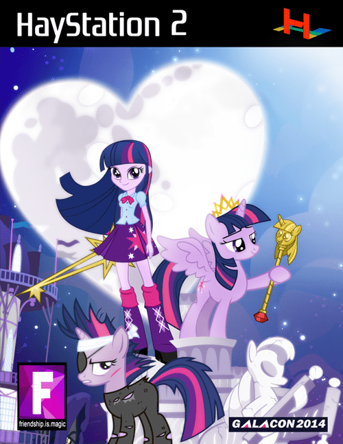 Fan Art kingdom hearts twilight sparkle - 8265356544