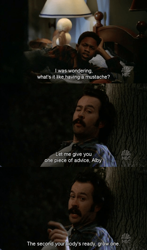mustache,My Name is Earl,funny