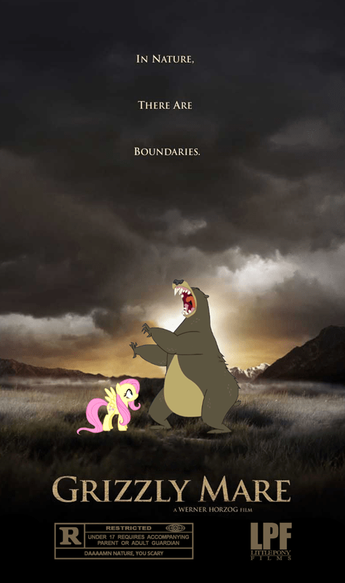 bears,fluttershy,Grizzly Man
