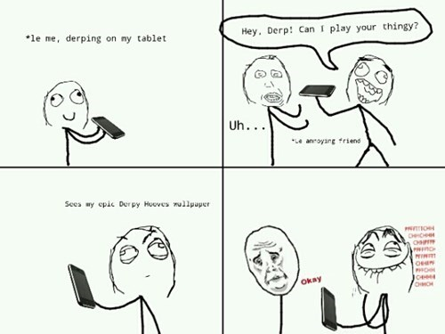 brony Rage Comics with friends like these - 8266002944
