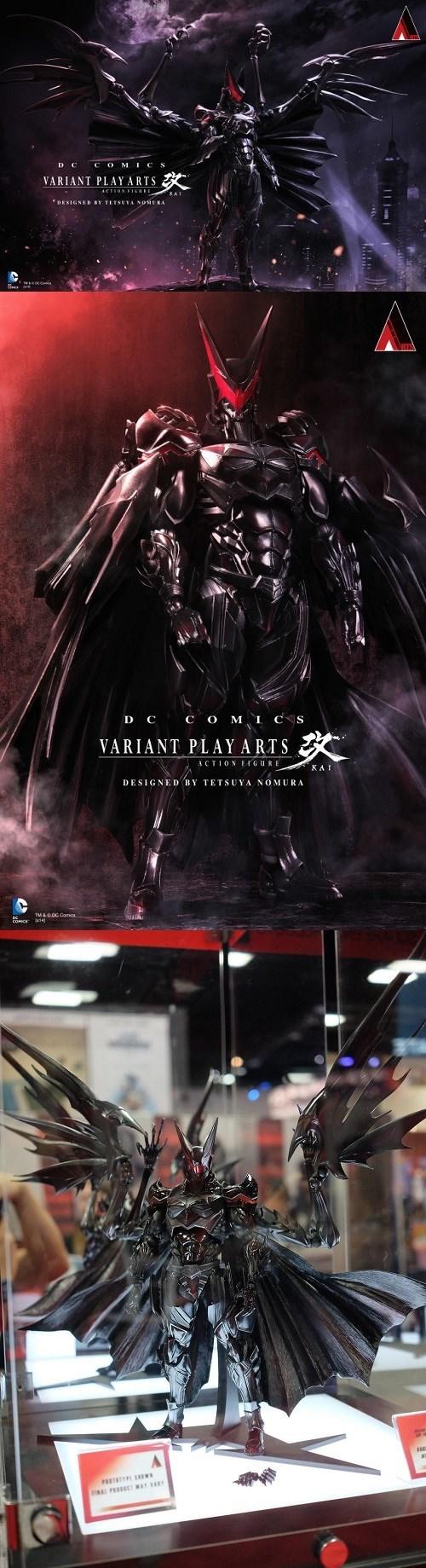 San Diego Comic Con 2014 kingdom hearts tetsuya nomura batman - 8266141440