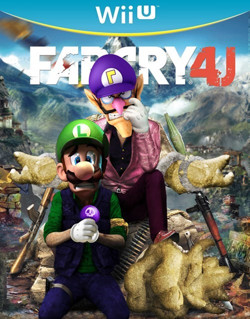 wii U totally real nintendo far cry 4 - 8266158592