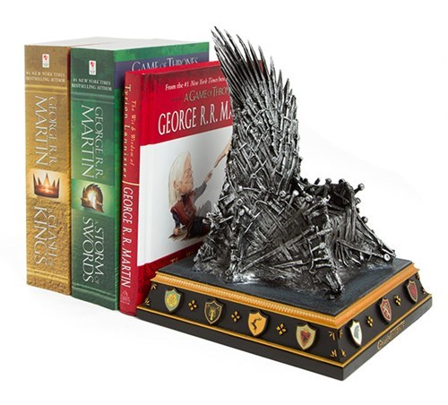reading Game of Thrones books - 8266210816