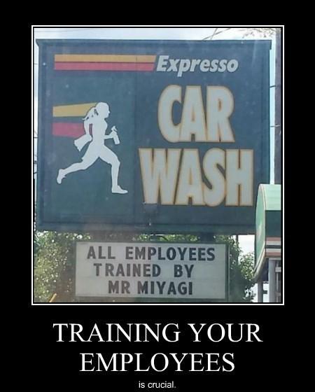 mr miyagi training funny - 8266227968