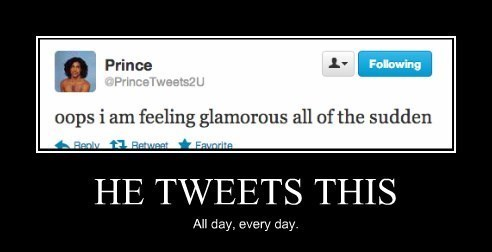 twitter prince glamorous funny - 8266230016