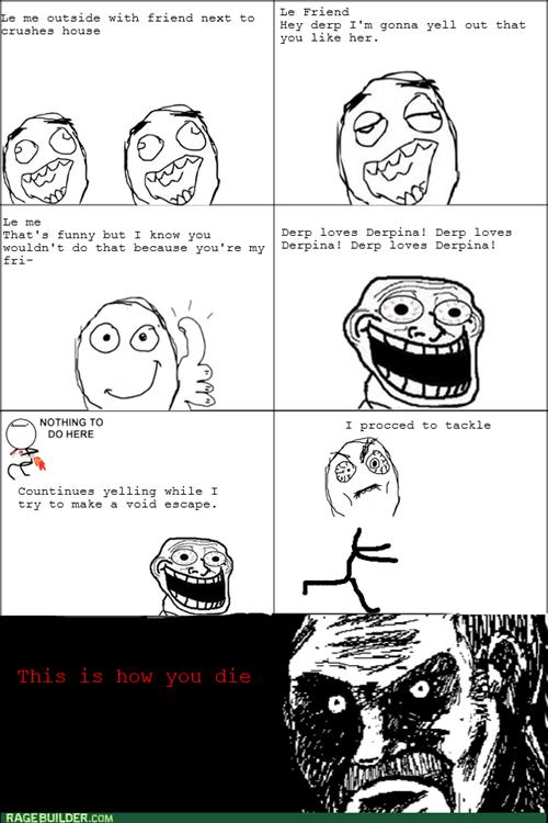 friends trolling trollface - 8266268672