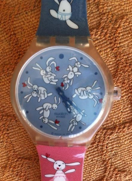 poorly dressed watch rabbit bunny - 8266294784