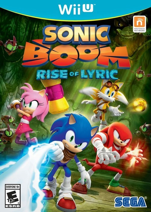 San Diego Comic Con 2014 sonic boom wii U 3DS nintendo sonic Video Game Coverage - 8266302976