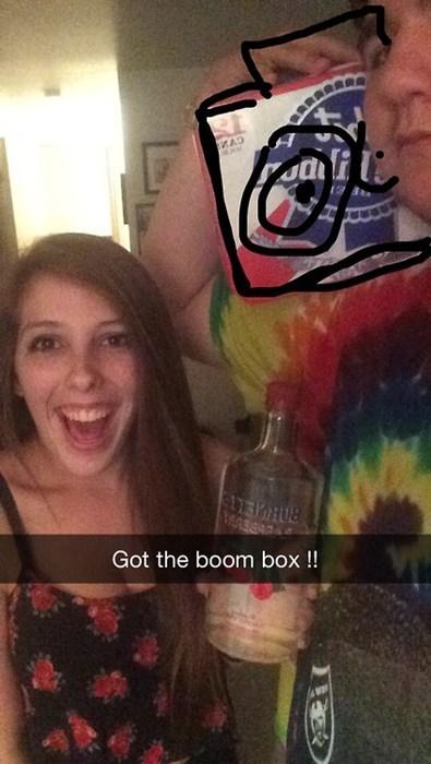 snapchat,alcohol