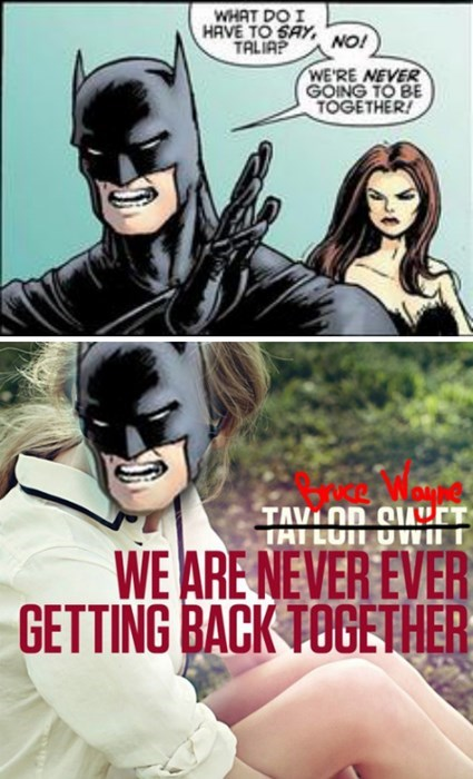 dating,batman,taylor swift