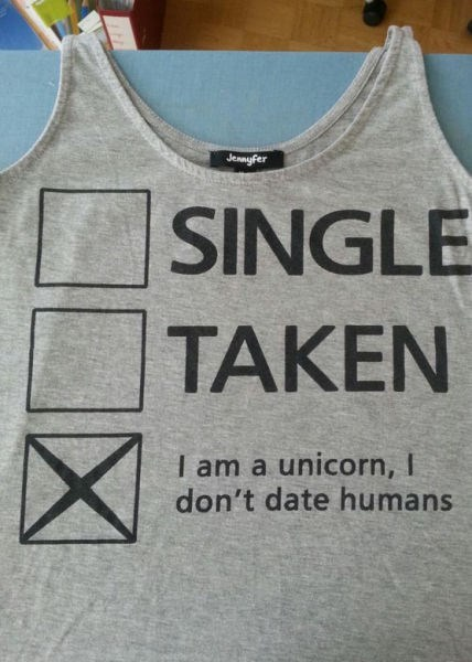 dating,unicorn,poorly dressed,g rated