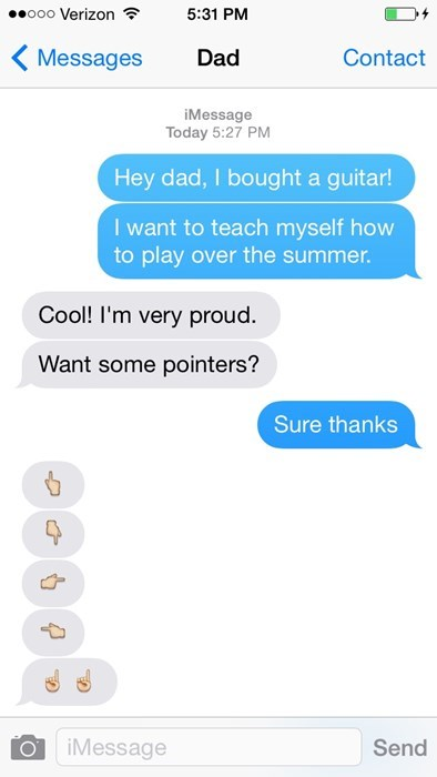 dads,emoji,dad jokes,puns